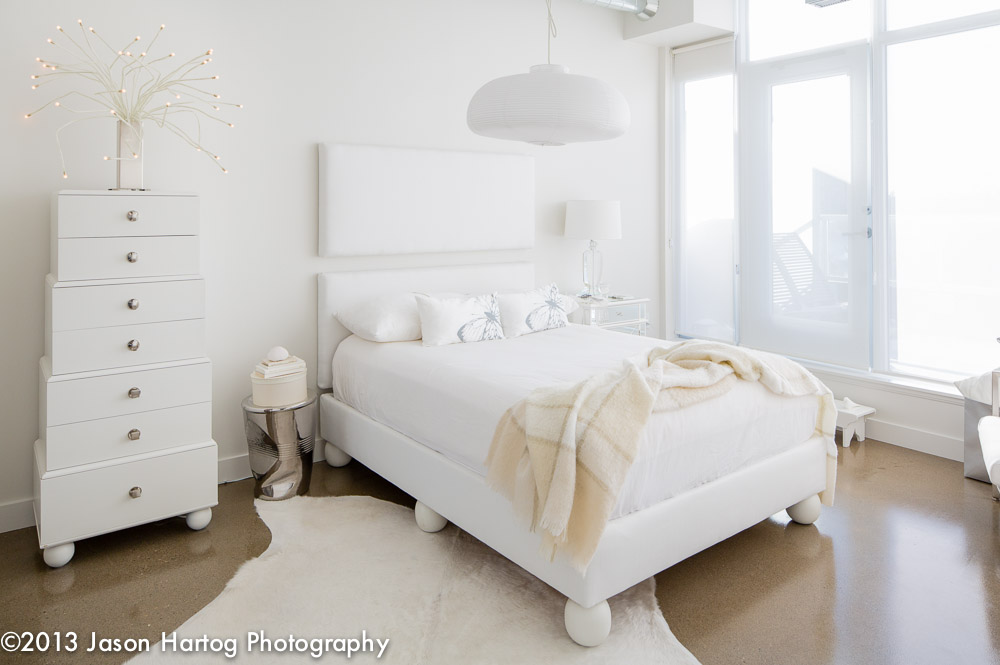 White Interior Photography Bedroom
