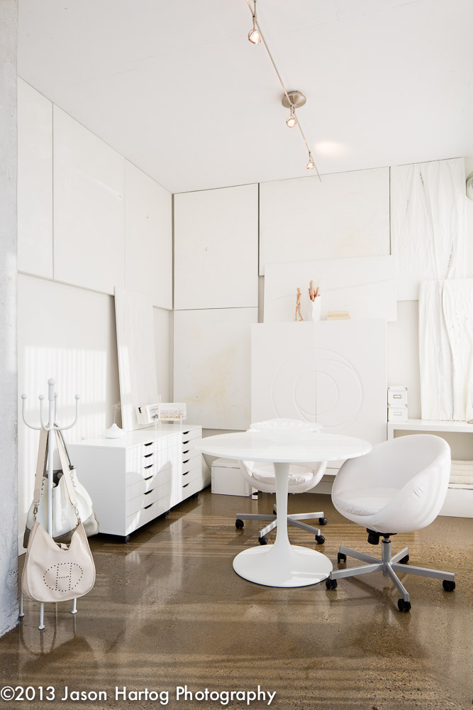 White Interior Photography Studio
