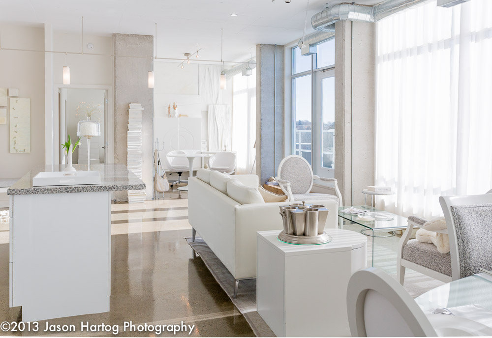 White Interior Photography Living room