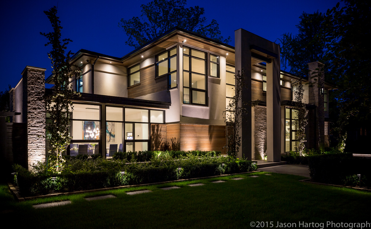 Architectural photography - Modern_Oakville_home